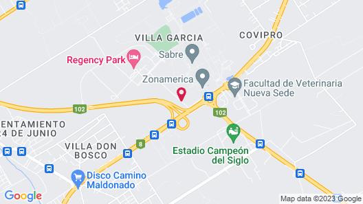 Regency Park Hotel + Spa Map