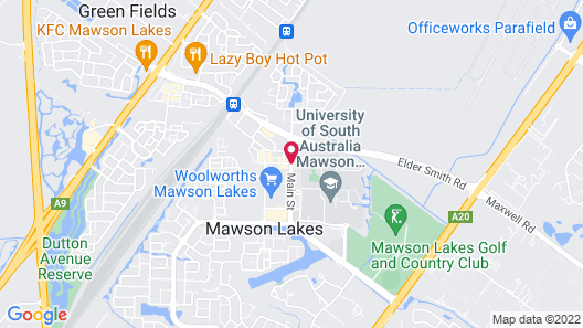 Quest Mawson Lakes Map