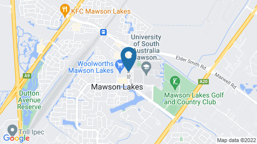 Mawson Lakes Hotel & Function Centre Map