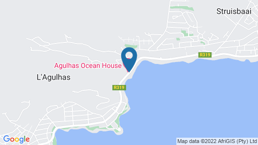Agulhas Ocean House Map