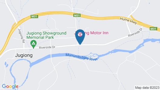 Jugiong Motor Inn Map