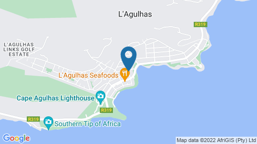 Cape Agulhas Guest House Map