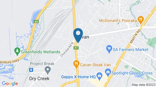 Cross Keys Hotel Map