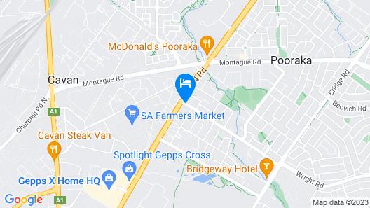 Pavlos Motel Map