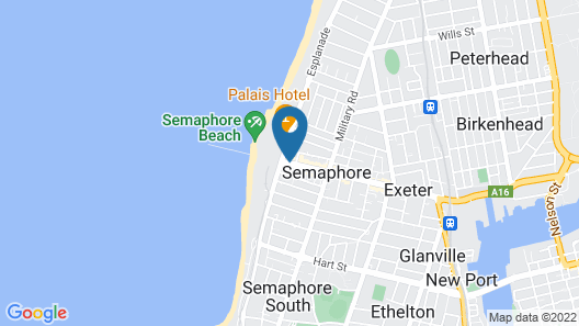 Semaphore Blue Apartments Map