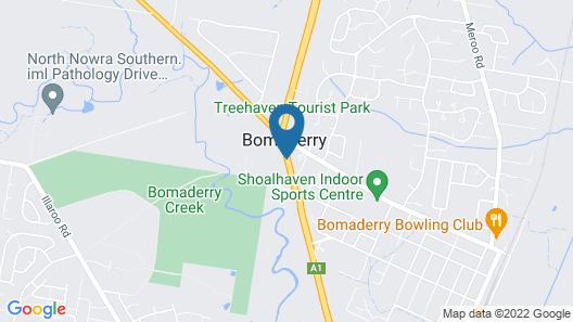 Bomaderry Motor Inn Map