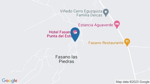 Hotel Fasano Punta del Este Map