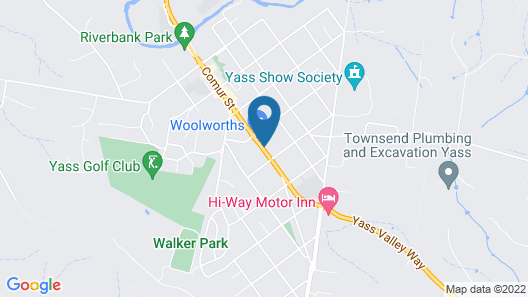 Thunderbird Motel Map