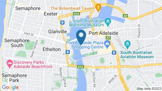 Port Adelaide Harbourside Home  Map