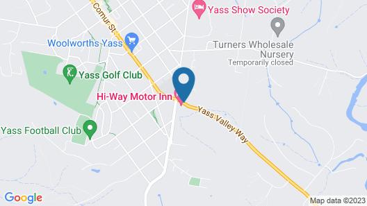 Hi-way Motor Inn Map