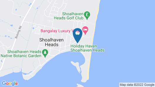 Holiday Haven Shoalhaven Heads Map