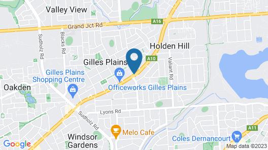 Highlander Hotel Map
