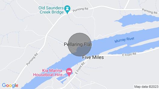 Pellaring Flat River Chalet Map