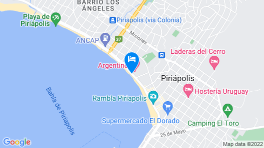 Argentino Hotel Casino & Resort Map