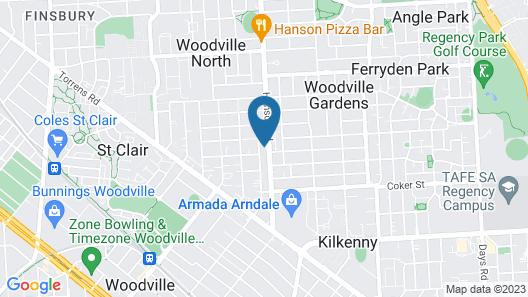 Nightcap at Finsbury Hotel Map