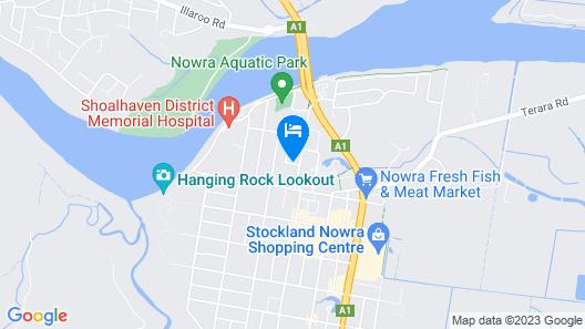 George Bass Motor Inn Map