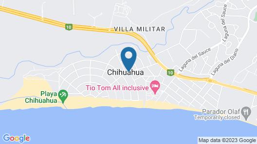Punta del Este Arenas Hotel & Resort Map