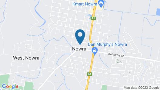 Nowra Motor Inn Map