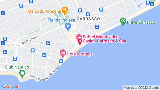 Sofitel Montevideo Casino Carrasco and Spa Map