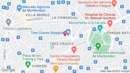 Days Inn Montevideo Map