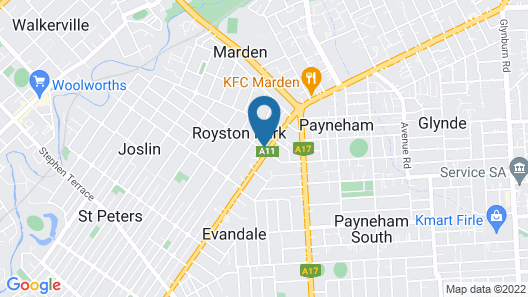 Adelaide Holiday Homes Map
