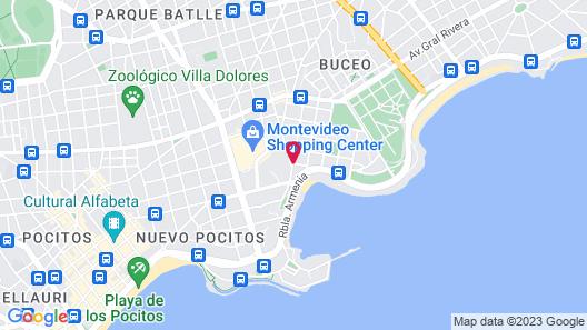 Palladium Business Hotel Map