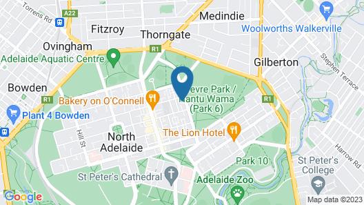 Princes Lodge Motel Map