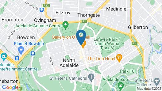 Adelaide Inn Map