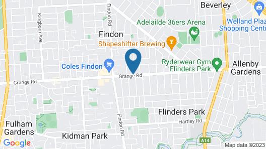 Nightcap at Findon Hotel Map