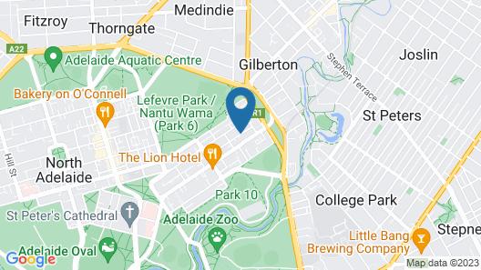 Adelaide DressCircle Apartments - Sussex St Map