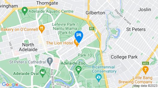 Majestic Minima Hotel Map