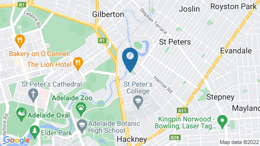 BIG4 Adelaide Caravan Park Map