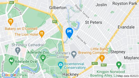Adelaide Caravan Park Map