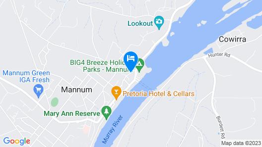 Mannum Motel Map