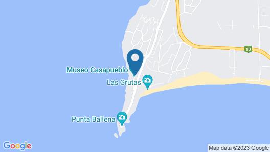Club Hotel Casapueblo Map