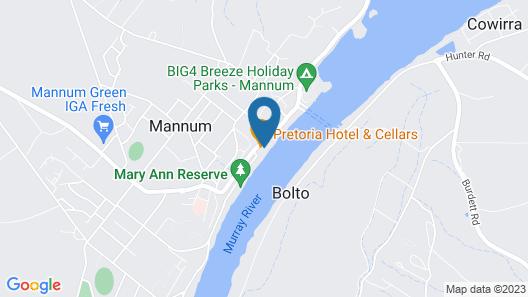 Pretoria Hotel Map