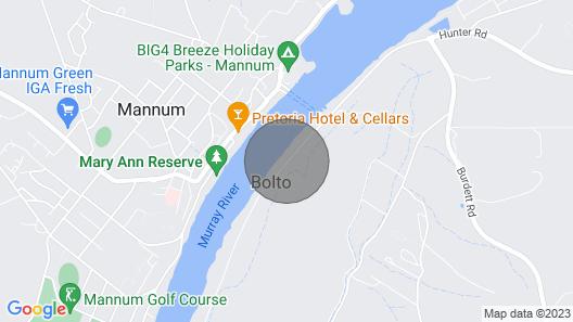 Riverfront Getaway - Mannum Map