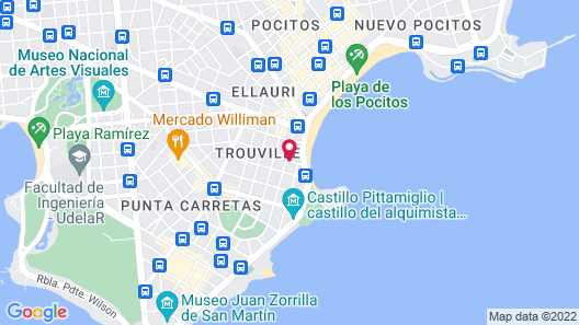 SORO Montevideo, Curio Collection by Hilton Map
