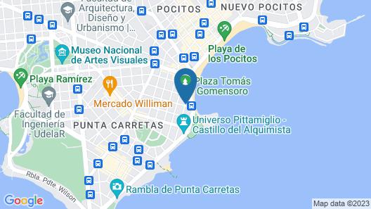 Punta Trouville Hotel Map