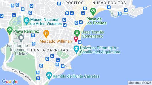 27 Suites Apart Hotel Map