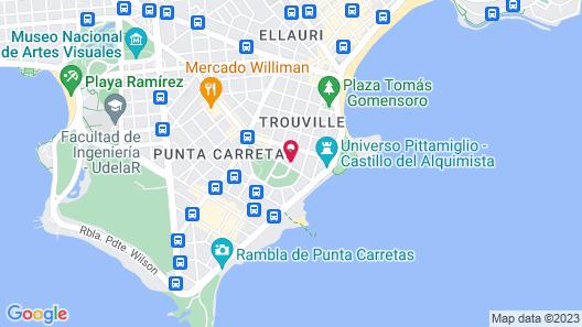 Gema Luxury Suites Map