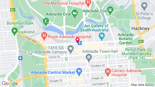 InterContinental Adelaide Map