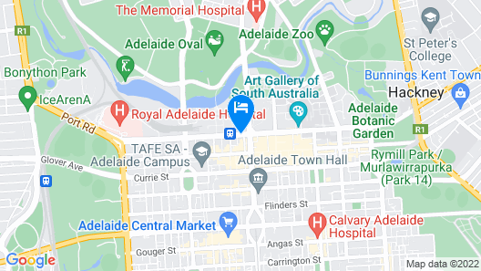 Stamford Plaza Adelaide Map