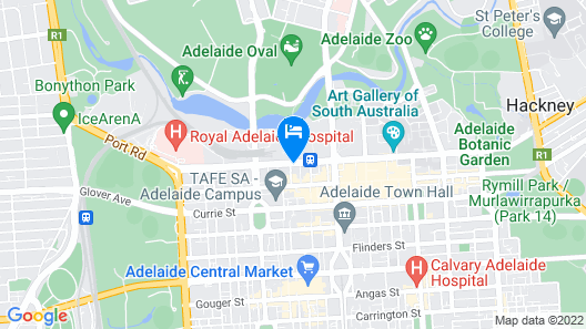 The Playford Adelaide MGallery Map