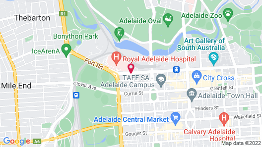 Adelaide Riviera Hotel Map