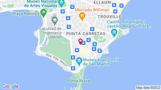 Regency Golf - Hotel Urbano Map