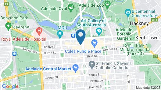 Adelaide Paringa Map