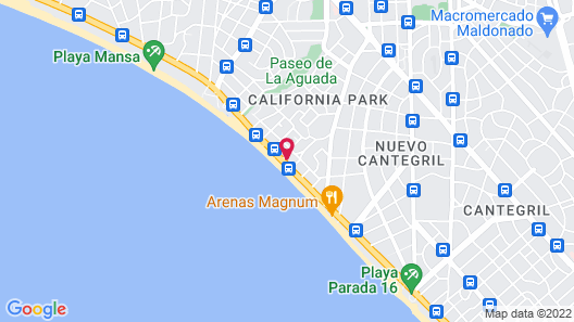 Apart Hotel Punta Azul Map