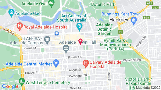 ibis Adelaide Map