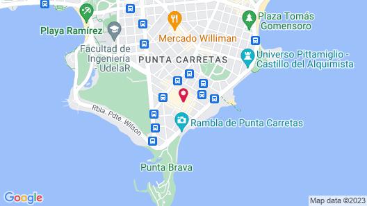 Sheraton Montevideo Hotel Map